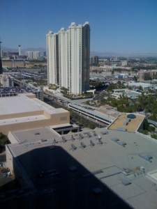 Some of the MGM buildings used in the conference