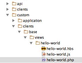 hello-world-folder-structure