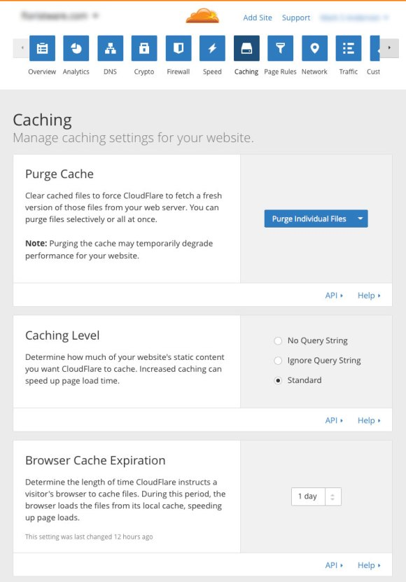 optimize-SugarCRM-cloudflare-cdn-08-caching-settings
