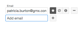 Email field example