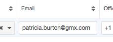 e-mail list view screenshot